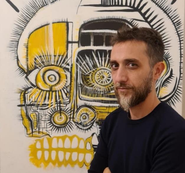 artiste peintre corse Michael Rossi