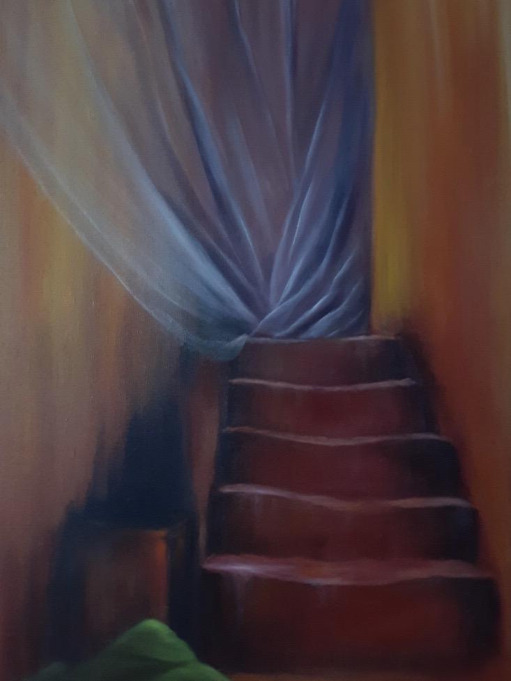 De l'autre côté oeuvre Laurence Angeli Bel'arti