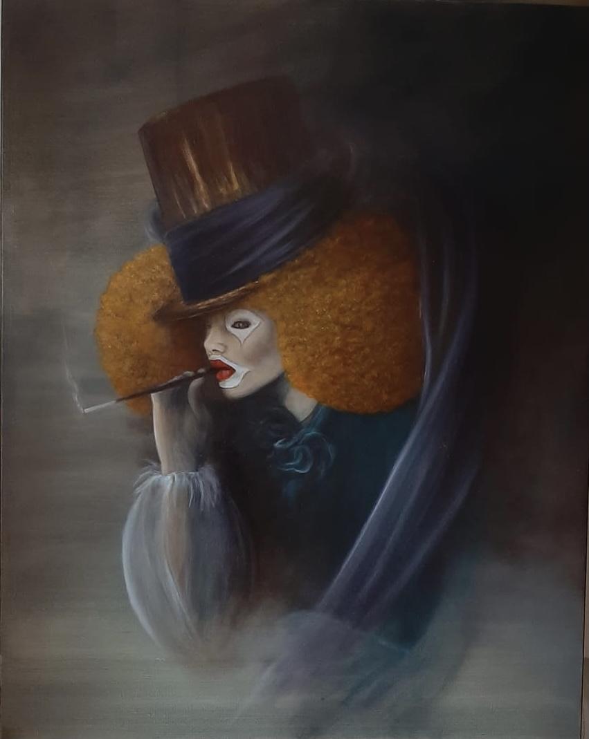 la femme clown Laurence angeli Bel'Arti