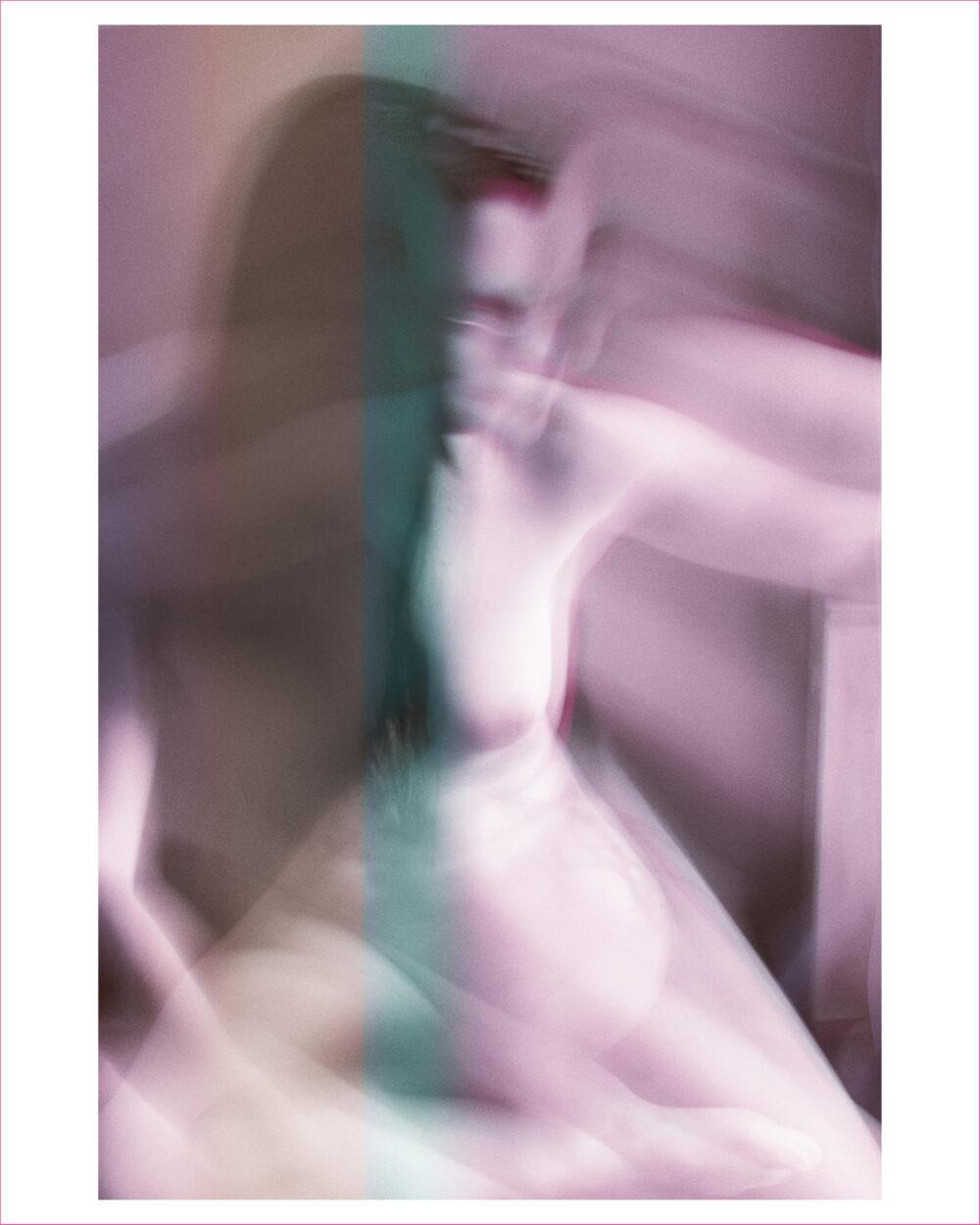 just blurry Cedric Therin galerie bel'arti
