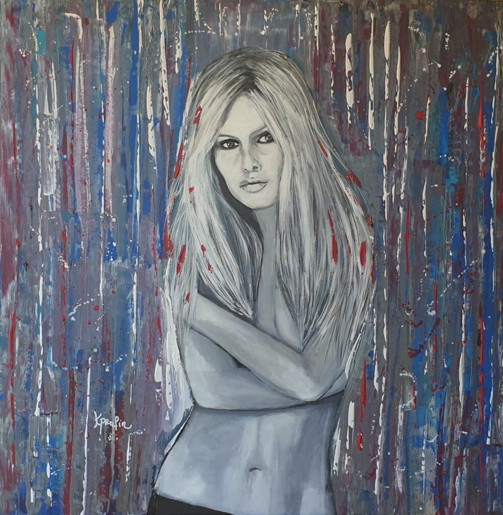 Brigitte bardot Karine PROFIR galerie Bel'Arti