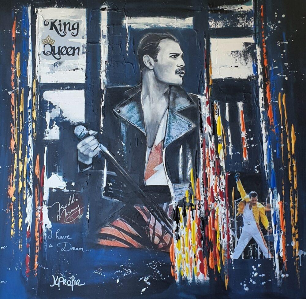 Freddie mercury Karine PROFIR galerie Bel'Arti