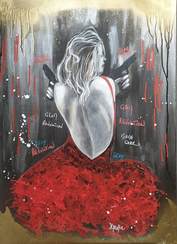 glam revolution Karine PROFIR galerie Bel'Arti