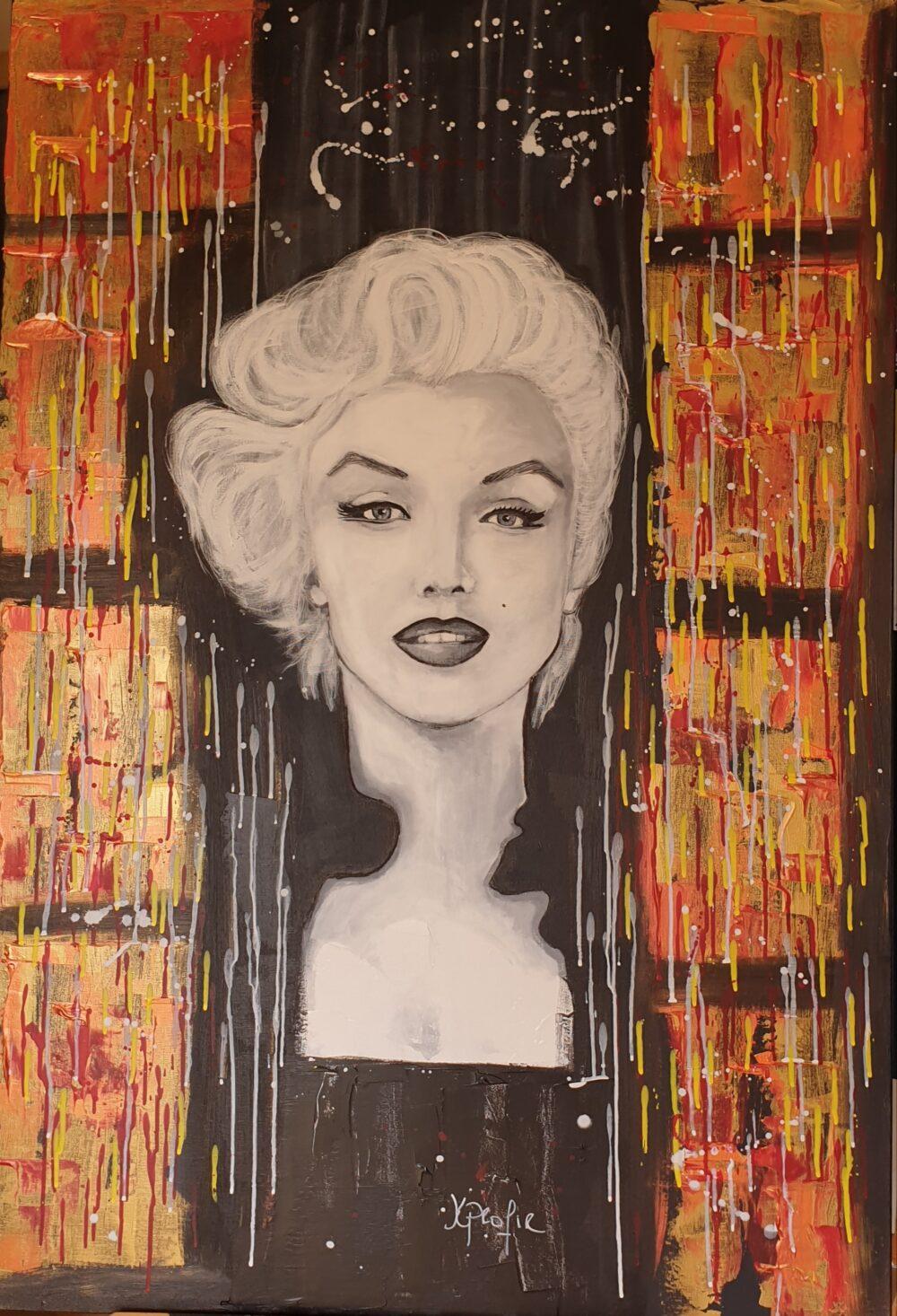 Marylin Monroe Karine PROFIR galerie Bel'Arti