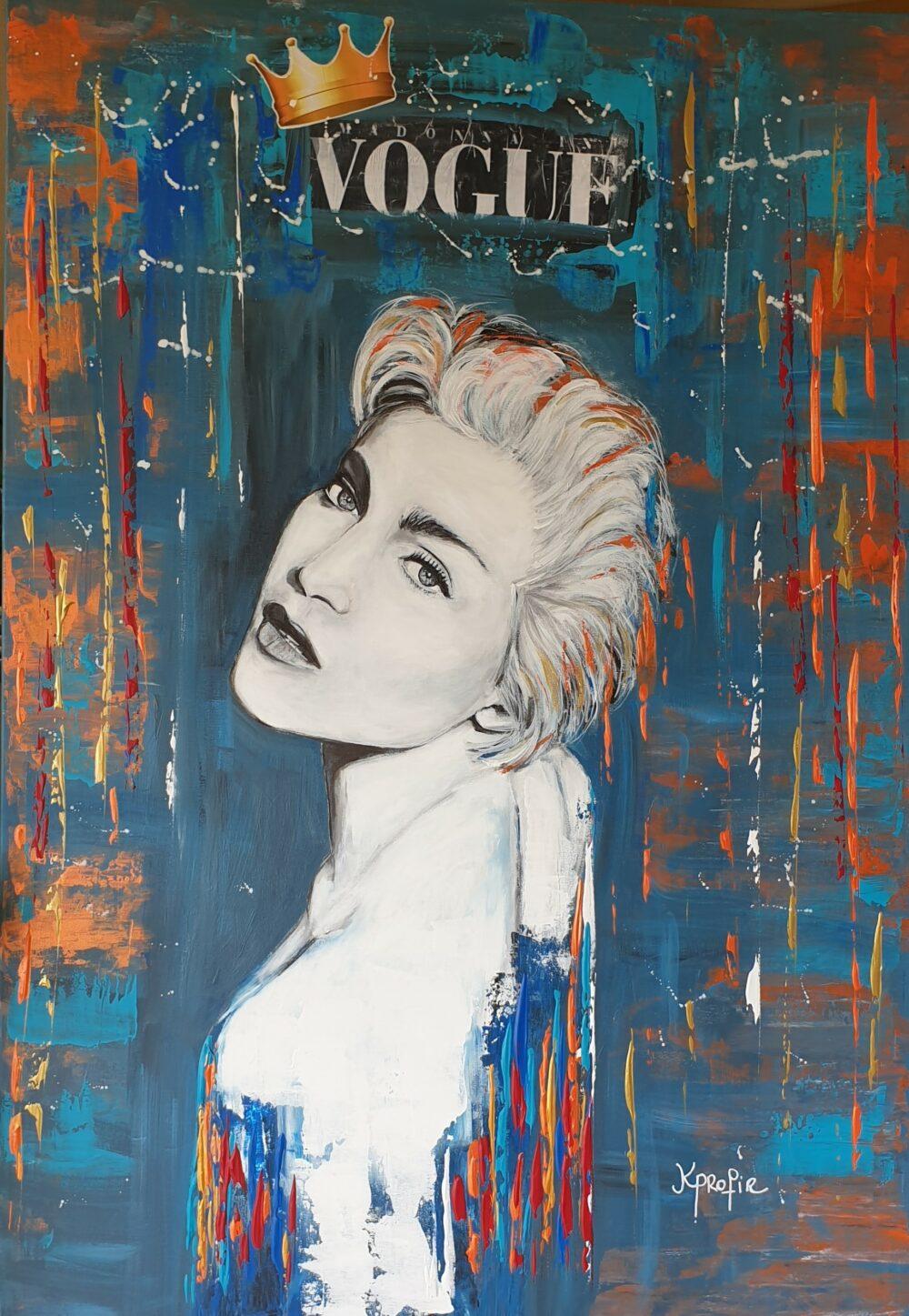 the queen of pop Karine PROFIR galerie Bel'Arti