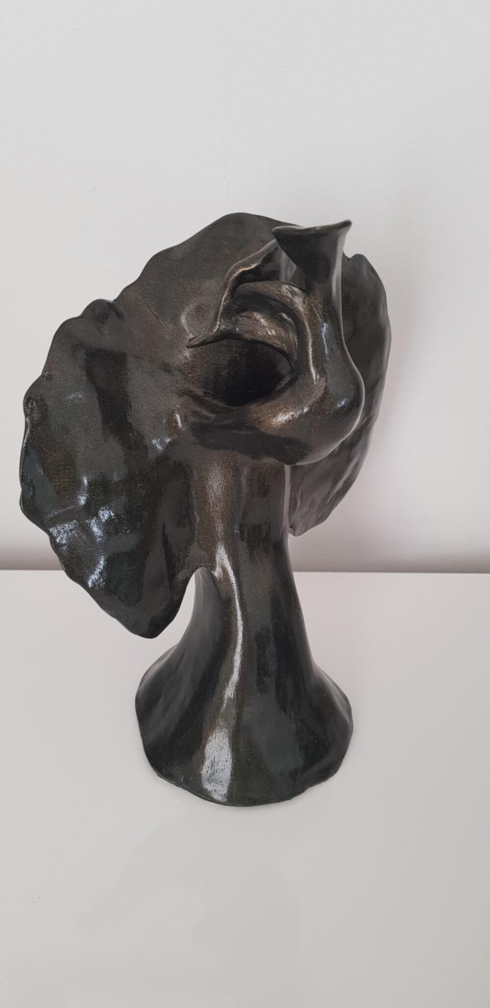 oiseau de nuit sylvie Antoniotti galerie bel'arti